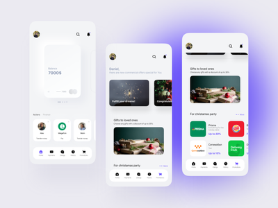 Banking app figma ux mobile mobile app app ui design