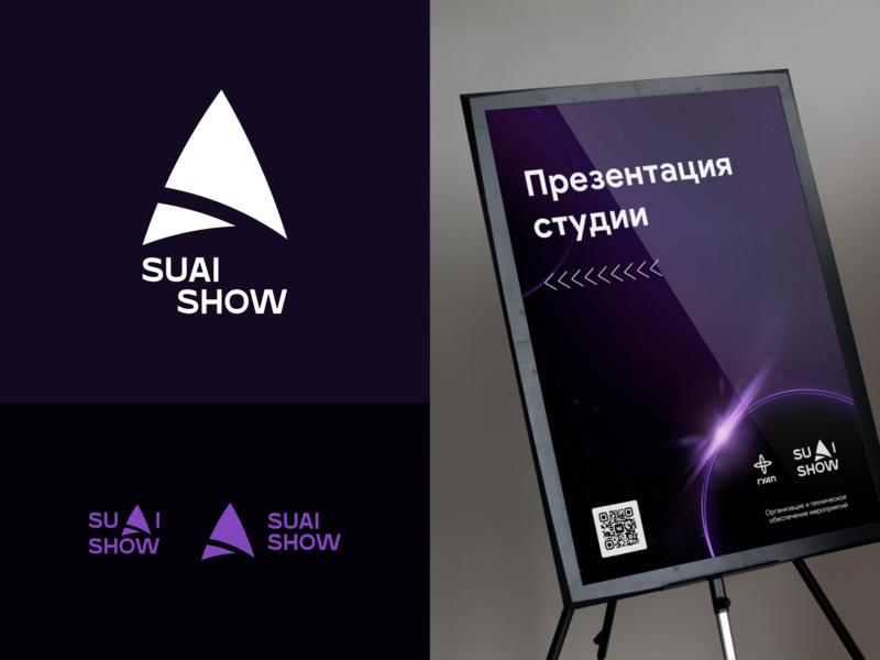 SUAI SHOW - Brand Identity logo design vector logo branding design
