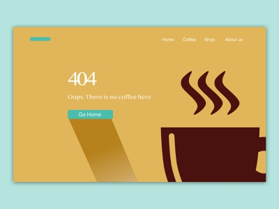 404page - UI Challenge web logo typography design ui prototype uiinspirations ux design userinterface ui  ux ui design app app design