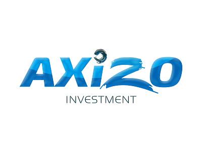 آكسيزو AXIZO logo typography calligraphic arabic