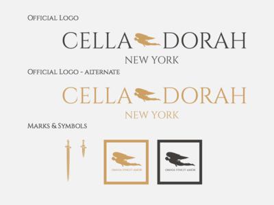 Cella Dorah Logo & Marks