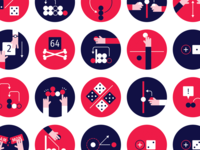 Icons for Hackgammon