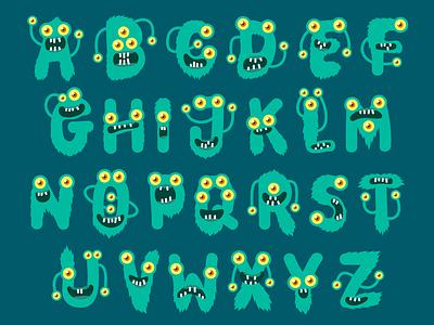 Beasty Font fontself fontself maker monster monsters dingbats typography otf typeface font