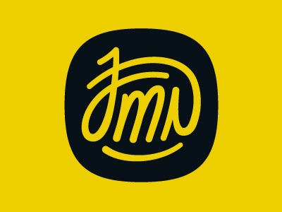 My Signature stamp signature letters typography jmn