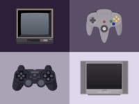 Televisions and Controllers