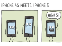 iPhone 4S Meets iPhone 5