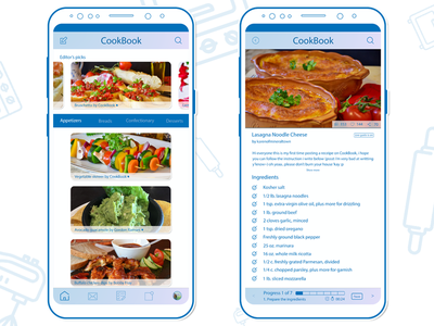 CookBook the receipe sharing app