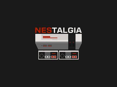 NEStalgia nes game dendy super mario old games retro gaming art logo