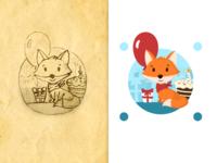 Fox birthday