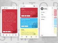 Notes App Concept