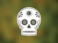 Sticker de Muertos
