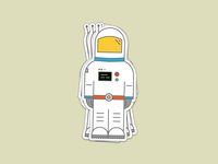 Stronaut Sticker