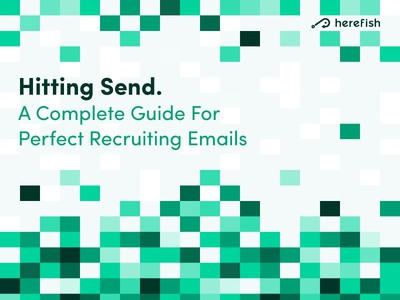 Recruiting Email Cover pixels boxes squares branding cover