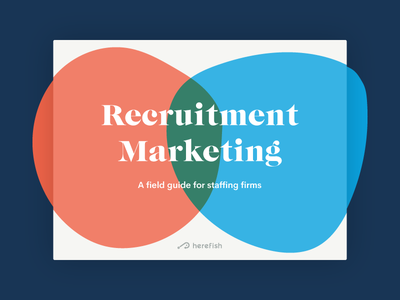 Recruitment Marketing Cover 3d glasses cover ebook
