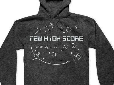 Cointelegraph Contest Sweatshirt space sweatshirt crypto
