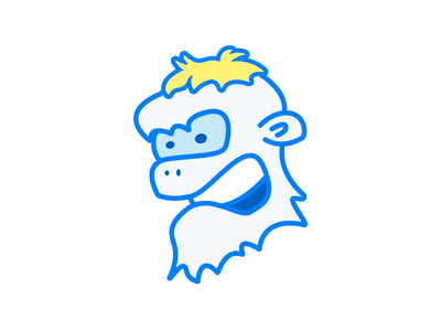 Shreddy Yeddy face character illustration yeti