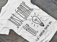 T-Shirt Design - Just Gimme The Light