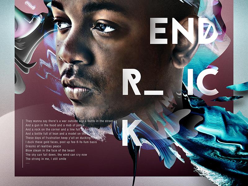 ALREADY LEGENDARY | KENDRICK LAMAR kendrick lamar typography legend poster abstract
