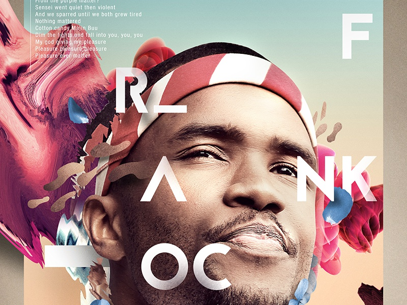 ALREADY LEGENDARY | FRANK OCEAN frank ocean oddfuture typography poster abstract render