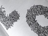Curly drawing