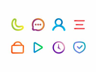 Bright UI Icons