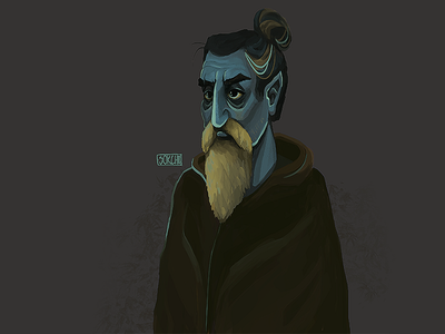Master Elf illustration digital drawing design character elf master