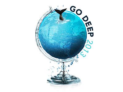 GoDeep Logo... logo photoshop