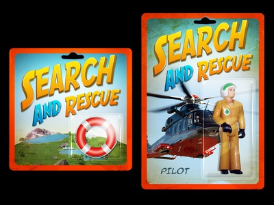 Search and Rescue 2 art direction photoshop identity