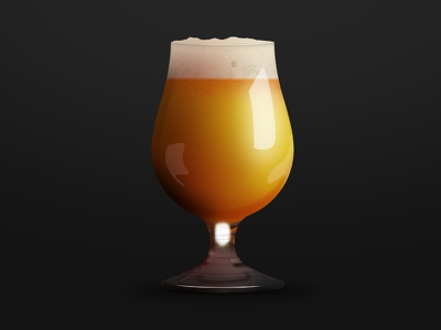Beer icon photoshop beer glass