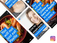 Manifest your hacks - Instagram campaign