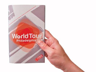 WorldTour Guide Concept logo seal brandmark brand identity sticker photography book app