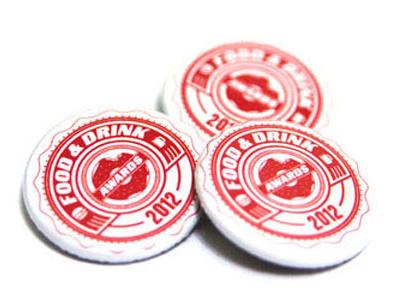 MAXIM Food & Drink Awards brand seal logo brandmark awards maxim magazine food print button