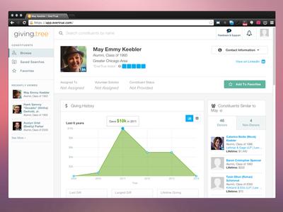 Web App Profile