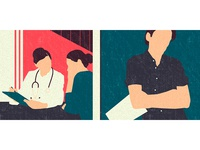 Illustration for the article about AIDS