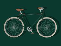 Hipster fixie bike