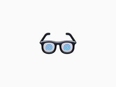 Glasses Icon ux icon ui icon user interface icon skeu skeuomorph skeuomorphism mac icon macos icon osx icon spiral presbyopia reading glasses short sight myopia smartisan sandor realistic app icon glasses glasses icon