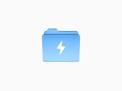 Folder Icon 2 ux icon ui icon user interface icon skeu skeuomorph skeuomorphism mac icon macos icon osx icon sandor realistic office glass folder file folder document app icon