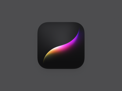 Procreate Icon Redesign digital painting app icon get creative with procreate procreate ux icon ui icon user interface icon bigsur big sur skeu skeuomorph skeuomorphism mac icon macos icon osx icon ios icon iphone icon realistic app icon sandor getcreativewithprocreate