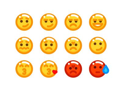 Emodor 2 emodor emoji expression emoticons symbol sandor icon iconography illustration line outline character