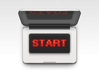 START Computer (Free PSD)