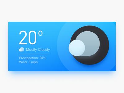 Weather Widget sun sky wind cloudy thermometer board temperature cloud sandor widget weather weather widget