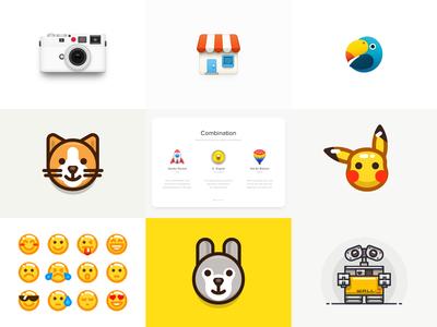 2016 Best Nine! wall·e rabbit emoji pikachu cat parrot leica store sandor best 2016 2016 best nine
