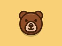 Bear bear lovely cute outline animal cartoon sandor iconography illustration character