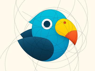 Parrot os icon app icon ios icon mac os icon macos icon mac icon osx icon icon stripes sandor parrot logo dotted construction circle bird