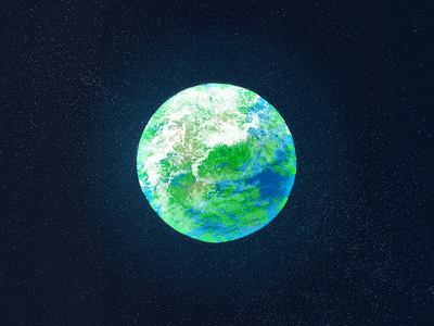 Earth natural world globe earth solar system extraterrestrial sandor alien planet planet illustration texture painting