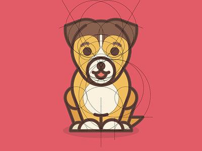 2018 Dog Construction construction line iconography logo illustration dog year dog 2018 happy new year new year sandor 2018 dog year