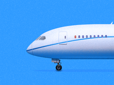 Airliner window sandor side fly airliner aircraft air bluesky sky plane airplane illustration