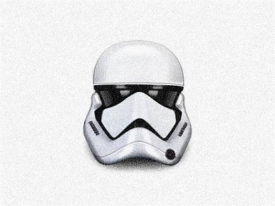 Stormtrooper Helmet ◢ STARWARS ◣ sandor darkpower force lucas wars painting helmet stormtrooperhelmet stormtrooper illustration starwars