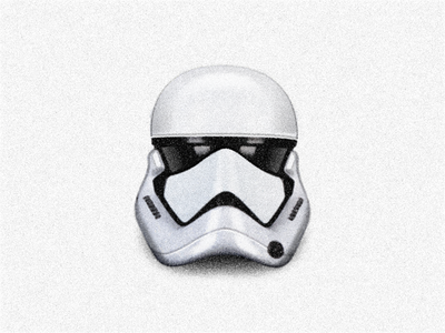 Stormtrooper Helmet ◢ STARWARS ◣ sandor darkpower force lucas wars painting helmet stormtrooperhelmet stormtrooper illustration starwars