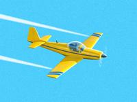 Light aircraft fullview